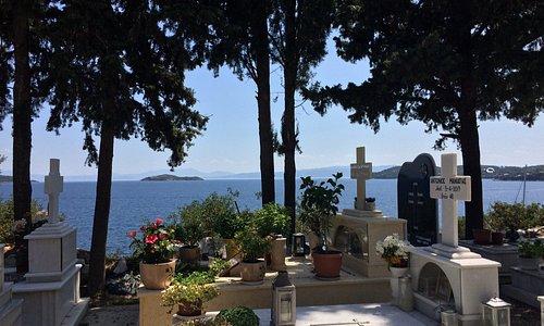 Vista sul Mar Egeo