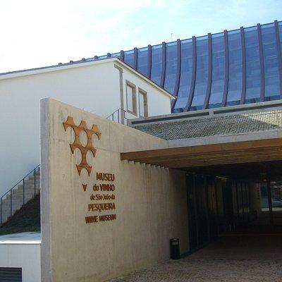 Porta de entrada de visitantes.