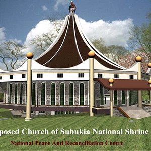 This is the Shrine Church ON Construction