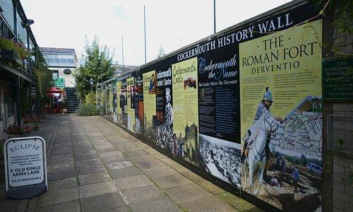 Cockermouth History Wall