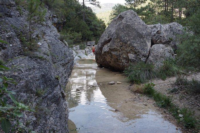 2ème point d'eau, photo prise en août, peu d'eau