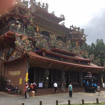 Shouzhen Temple, at the foot of the Alishan National Park