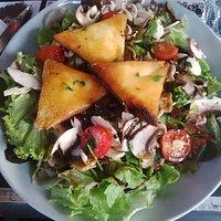 Salade de chèvre