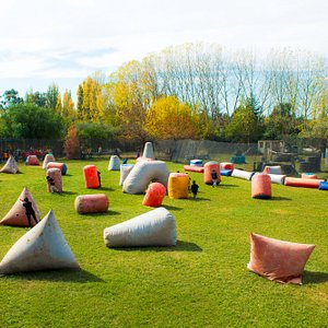 Tenemos dos campos de juegos, somos el mejor campo de Mendoza y experiencia para hacer eventos