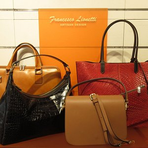 Some of our leather bags