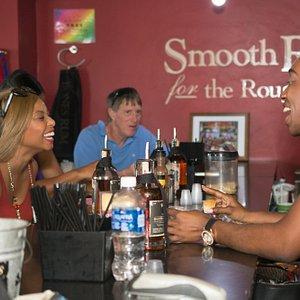 Pour your own rum on Taphus Sip & Bite Tour