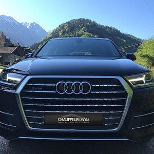 Audi Q7 flotte de Chauffeur lyon VTC