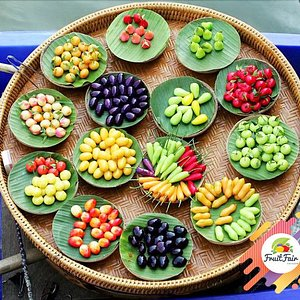 U can find all types of tropical fruit here <3
