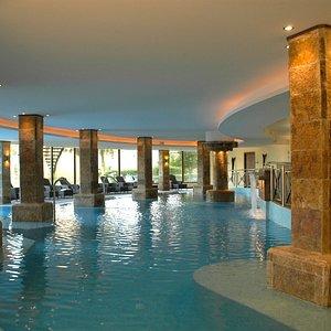 Salt water heated pool!