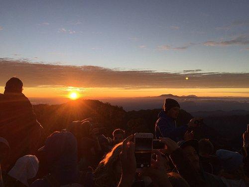 Wonderful bromo sunrise