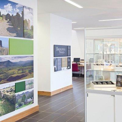 Visitor Information & Gift Shop at the Roe Valley Arts & Cultural Centre