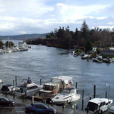 Marina on the river
