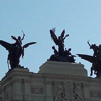 La Gloria y los Pegasos del Palacio de Fomento