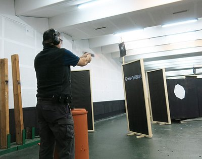 """IPSC match """"Winter is here"""""""