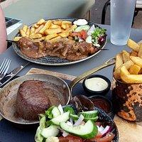 Kipsate & Steak