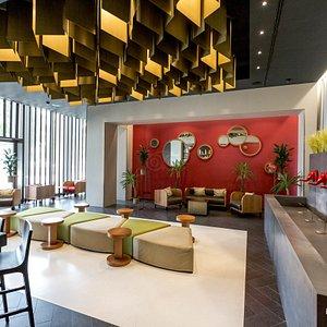 Bar at the Glam Hotel Milano