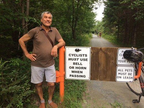 Summer biking fun near Halifax