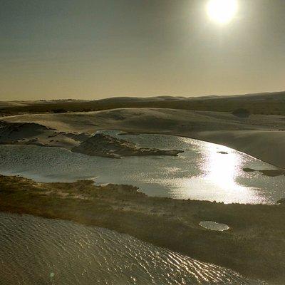 Lagoa e Duna do Coração