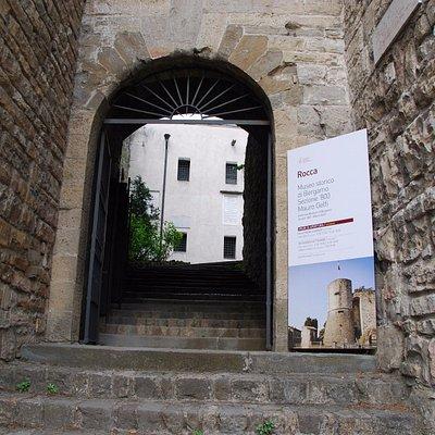 Ingresso Museo dell'Ottocento - Rocca di Bergamo