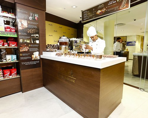 Lindt Chocolate Studio and Boutique - Silo District, V&A Waterfront