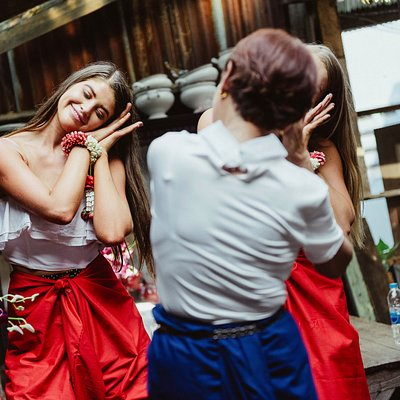 Learn original Thai dancing with grandma in performance central vintage community