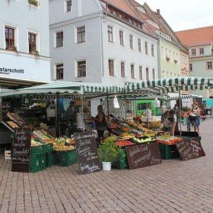 Pirna market