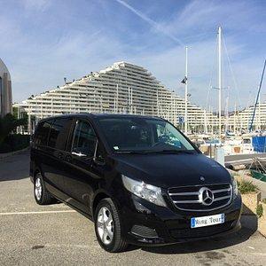 Our 7 seats Mercedes van
