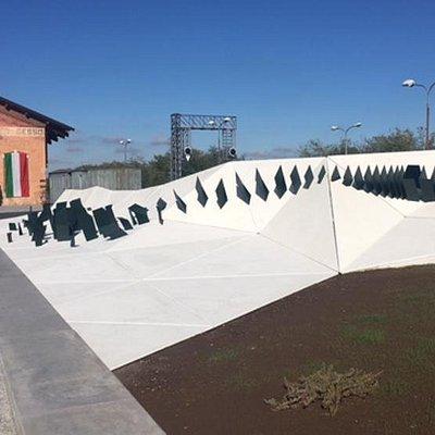 Stazione gesso Cuneo  memoriale divisione alpina cuneense