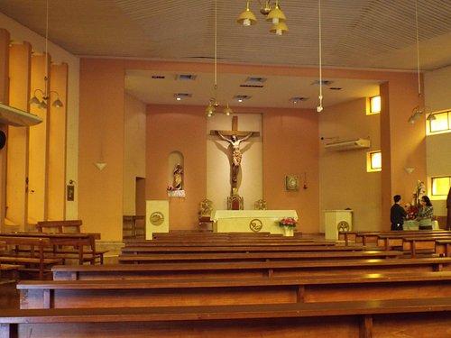 Interior de la Catedral Virgen del Carmen. Puerto Iguazú.