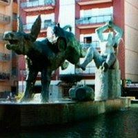 Fontana vista da  altra angolazione .