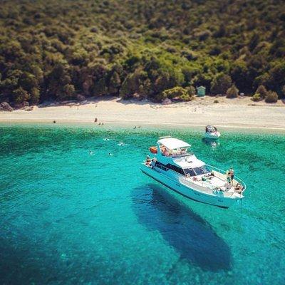 Lucky Cruises at Koutsoupia Beach (Kefalonia)