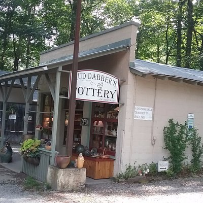 Pottery shop.