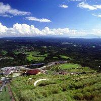 鹿児島県を一望する270度の壮大なパノラマ絶景