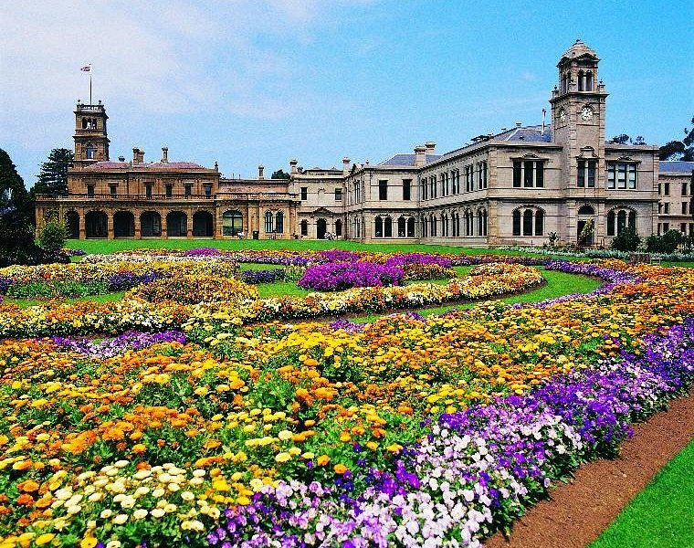 How does your garden grow? A riot of colours at the parterre (formal) garden at Werribee Park.
