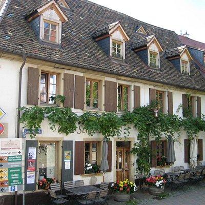 Zentrum von Wachenheim