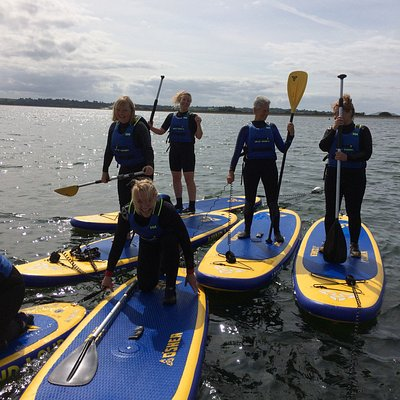 Fun at the reservoir - sailing, stand up paddleboarding, windsurfing and just relaxing!