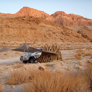 Judea desert & Dead Sea.