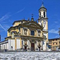 Santuario Sant'Invenzio a Gaggiano in provincia di Milano Lombardia  Italia
