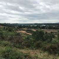 View from the top of Hartlebury Common