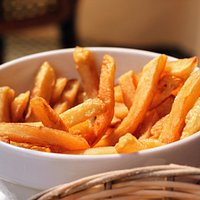 Lovely home made fries