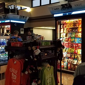 the kiosks