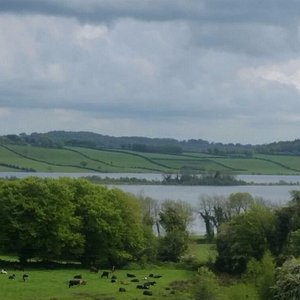 View of Lough Lene from Collinstown Village