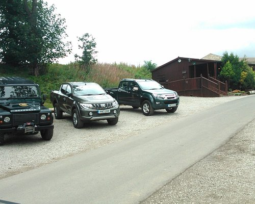 """We went """"roughty-toughty"""" with the Land Rover Discovery"""