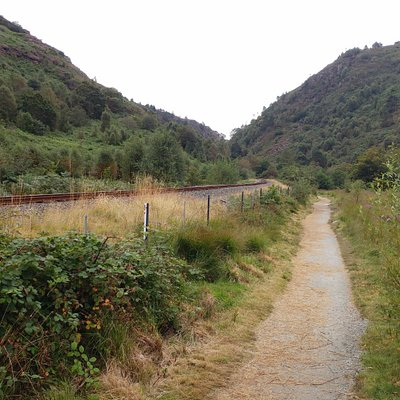 Aberglaslyn Pass, by Welsh Highland Railway