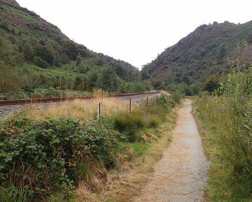 Aberglaslyn Pass, by Welsh Highland Railway