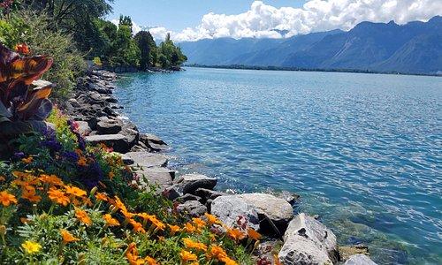 And a gorgeous lake too!