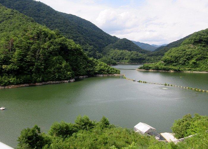 姉川ダム湖[白龍湖]