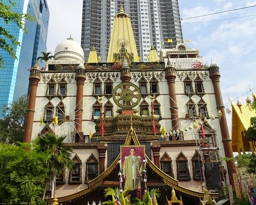 お寺Wat Pasee境内
