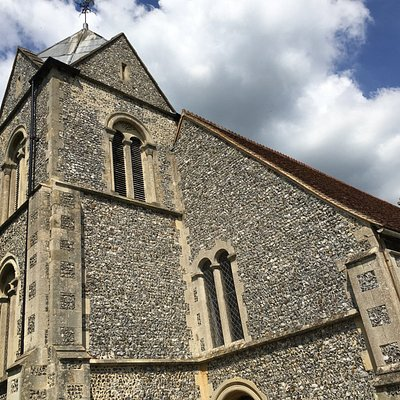 St Nicolas Church, Newnham, Hampshire, UK