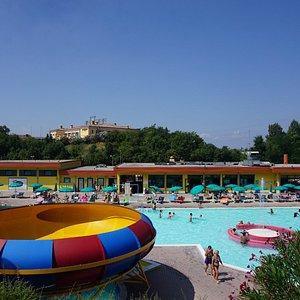 Vista principale del Parco Acquatico Riovalli